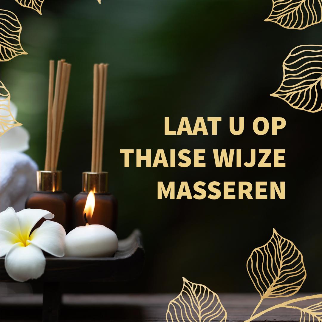 Laat u op Thaise wijze masseren